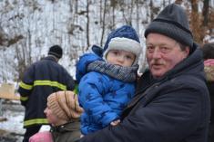 Silvestrovská procházka s hasiči