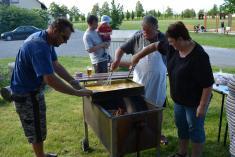 Smažení vajec s čermenskými hasiči