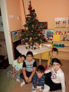 ZIMA v MŠ, vánoce