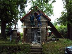 2011- Nová fasáda na kapličce