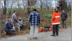 2013- Kácení a prořezávka stromů naproti kapličky