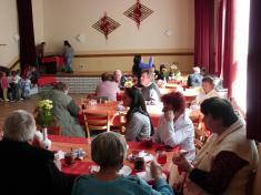 Den matek, posezení pro seniory